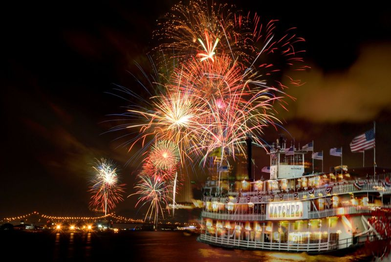 Get The Jump On July 4th Cruise Steamboat Natchez
