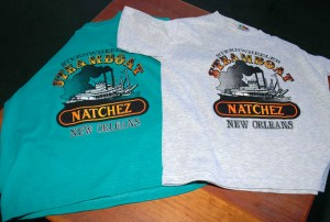 Child's short sleeve t-shirt with the NATCHEZ printed on the front