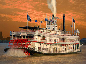 Steam Boat Natchez, New Orleans & The History of Mississippi River Steamboats book