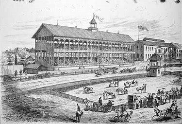 Image result for fair grounds race course historical photos